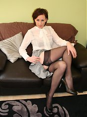 This English housewife sure knows how to please herself