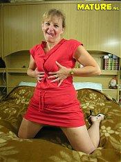 This mature slut loves a big hard cock