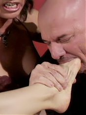 Mature gal Vanessa Videl and her oldie friends play with their lover in this wild group sex live